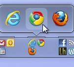 Organiza y agrupa los iconos de la barra de tareas de Windows 7