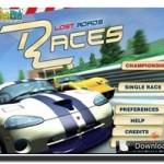 Lost Roads Races, Juego de carreras gratuito