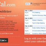 PubMyCal, administra y comparte tu calendario de Google
