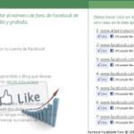 Aumenta el número de fans de tu página de Facebook de forma rápida, sencilla y gratuita.