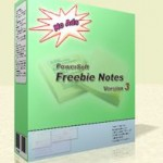 Notas adhesivas en tu escritorio con Freebie Notes