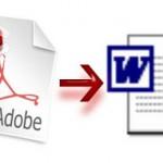 Convierte archivos PDF en documentos de Word.