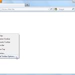Coloca la barra de herramientas de Firefox en vertical.