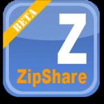 Comparte archivos en Facebook con ZipShare