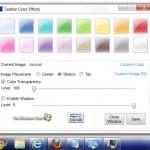 Añade efectos de color a la barra de tareas de Windows 7