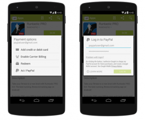 paypal google play