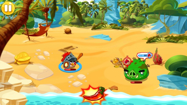 como jugar a Angry Birds Epic