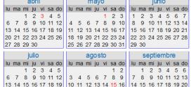 Crear calendarios online es sencillo con Time&Date