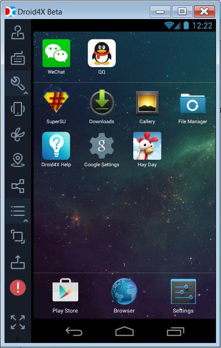 droidx4 menu