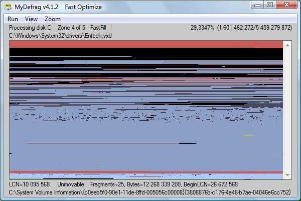 desfragmentar el disco duro en windows