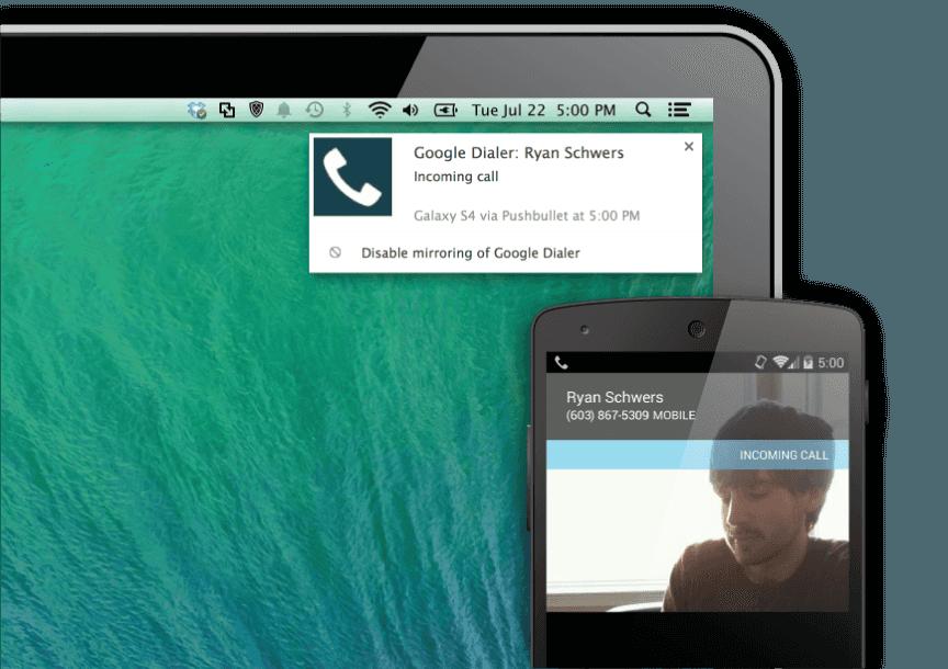 notificaciones android en el PC