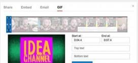 Youtube estrena una herramienta para GIFS animados