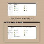 Tema Naumn para Windows 8.1