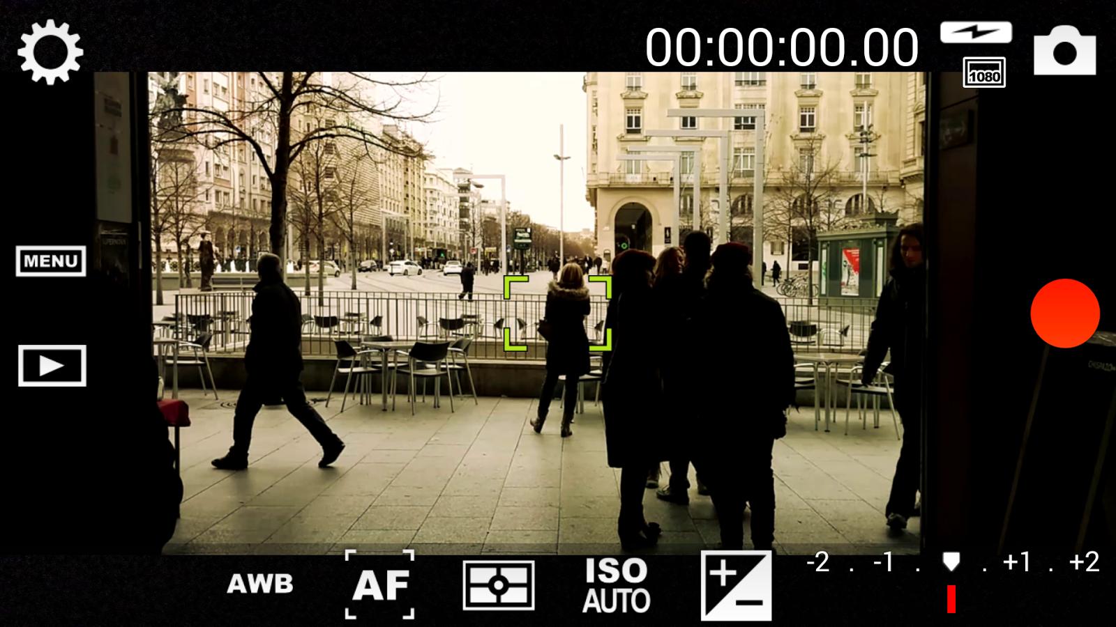 aplicación para grabar vídeos