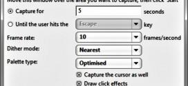 Gifferly, programa para grabar la pantalla en formato GIF