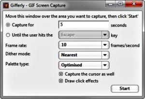 captura de video en gif
