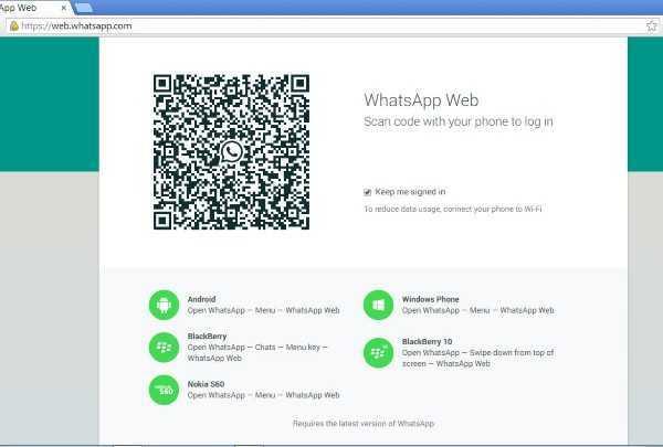 whatsapp en el pc
