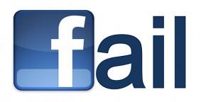 errores en las redes sociales
