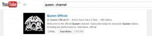 como buscar canales en youtube