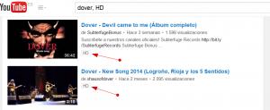 como buscar videos hd en youtube