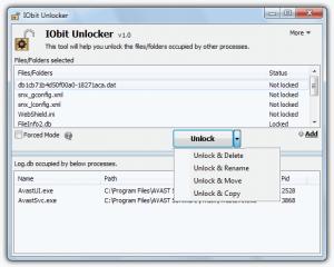 borrar archivos bloqueados