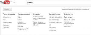 usar filtros en youtube