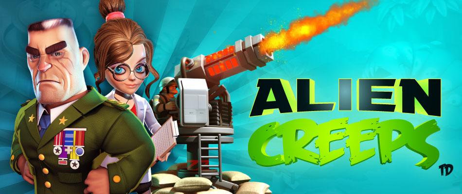 Alien Creeps TD para Android