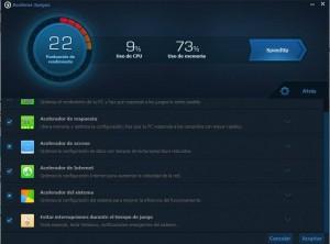 pc faster acelerar juegos