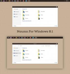 Tema Naumn para Windows 8.1