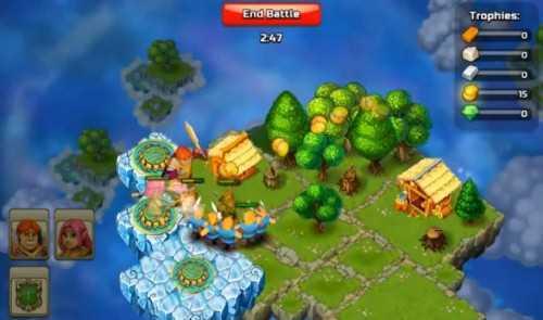 Clash of Islands