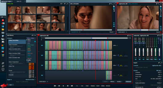 editor profesional de videos