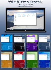 Windows 10 temas