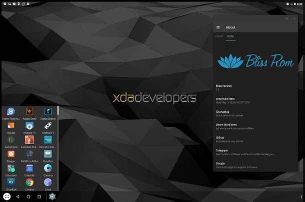Emulador Android para pc Bliss Os