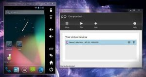 Emulador Android para pc genymotion